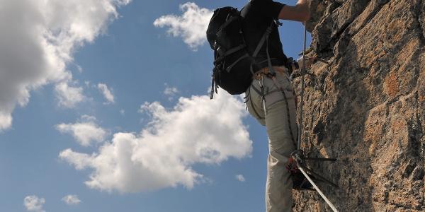 Kristallwand (letzte Herausforderung vor dem Gipfel)