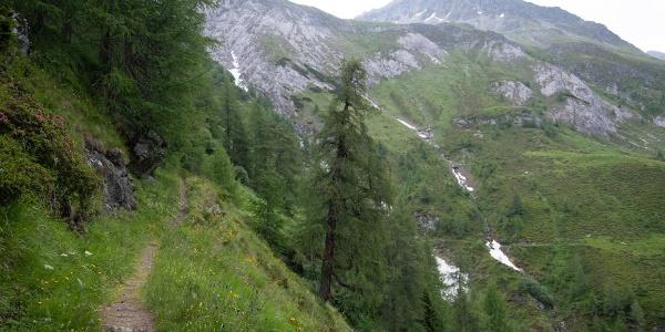 zwischen Wetterkreuz und Bergerseehütte