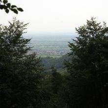 Blick von Schutzhütte