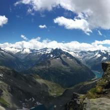 View from Friesenbergscharte