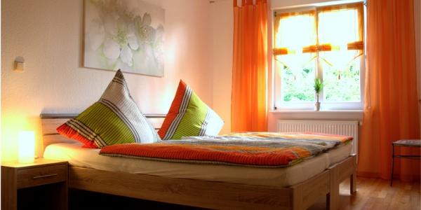 Apartment Rehbach - Schlafzimmer