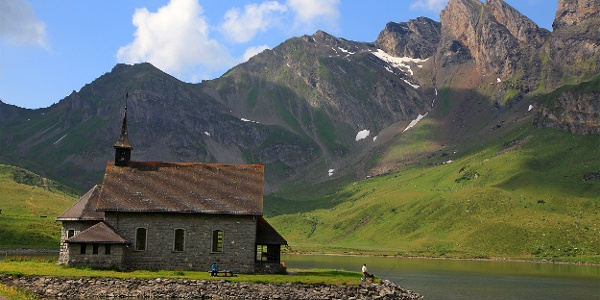 Kapelle am Melchsee.