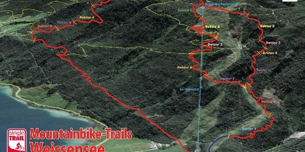 Alle drei Trails im Überblick