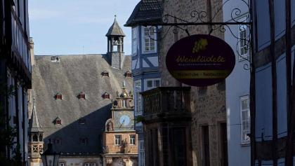 Fachwerk in Marburg