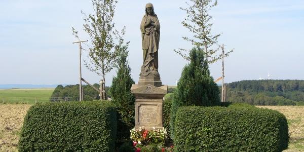 Madonnenstandbild in Paderborn-Dahl