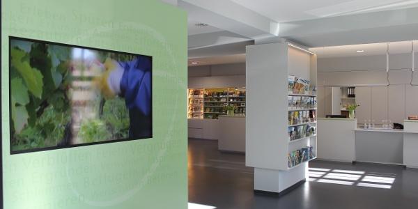 Tourist-Information Radebeul, Innenansicht 1