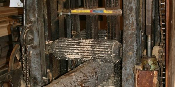 Maschine in der Herklotzmühle