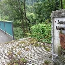 Brücke in Unterau