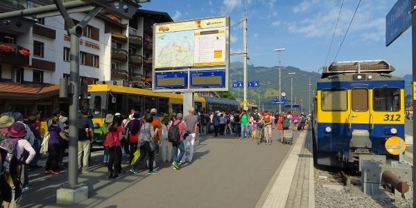 Bahnhof Grindelwald.