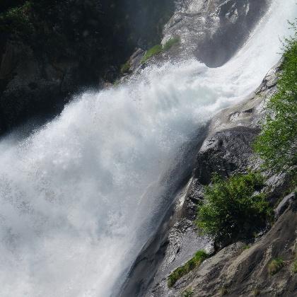 Der Partschinser Wasserfall