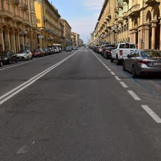 Cuneo am Morgen