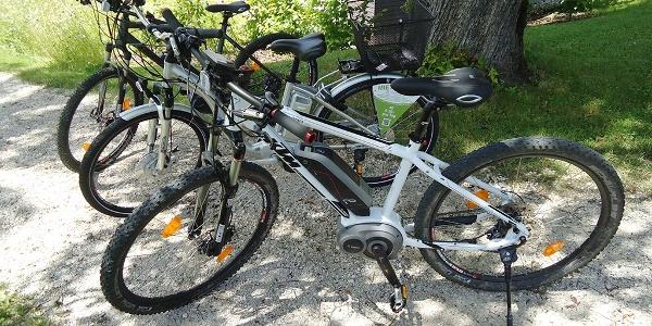 E-Mountainbike-Verleih von Firma E-Mobility © Rainer Aichinger