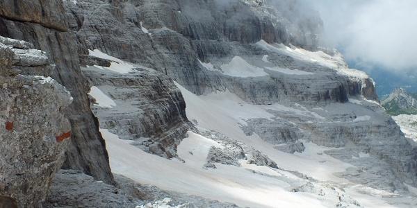 Panorama verso valle e verso Madonna di Campiglio