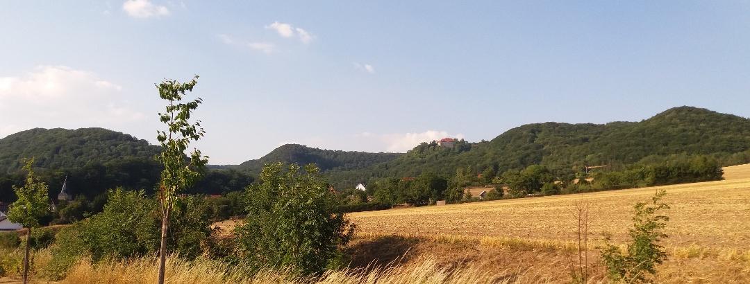 Blick ins Ohmgebirge
