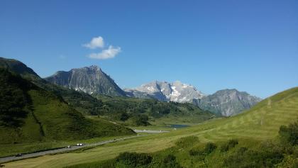 Aussicht auf halber Strecke zur Widdersteinhütte