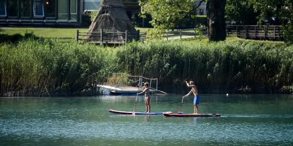 In SUP sul Lago di Ledro