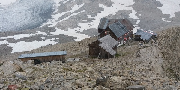 Rückkkehr zur Mannheimer Hütte.