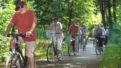 Mit dem Rad auf der Naturparktour