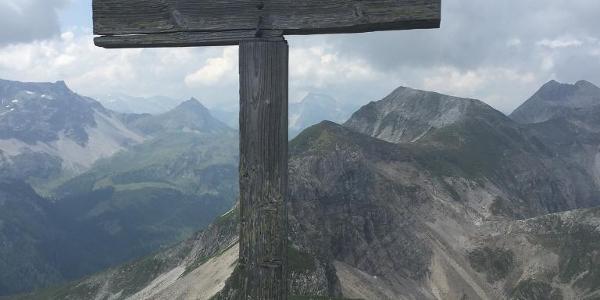 Kreuz am Zehnerkarspitz