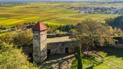 Ausblicke von der Burg Battenberg