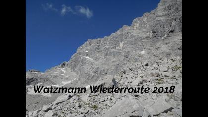Watzmann Wiederroute 2018
