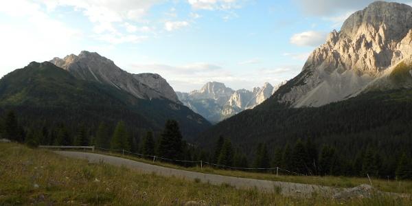 Vista verso la Val Sesis