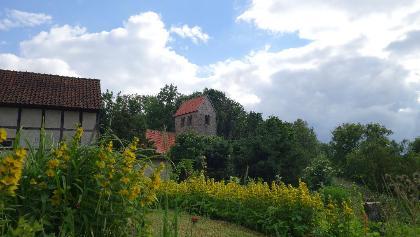 Blick auf die Kirche in Beendorf