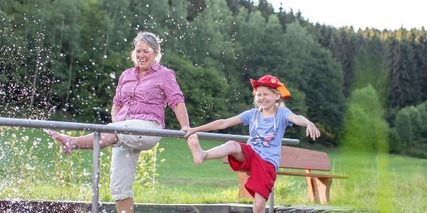 Kneipp-Wassertretbecken in Hilchenbach-Grund