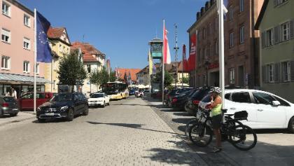 Gunzenhausen im Hintergrund der berühmte Glockenturm