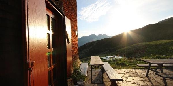 Morgenstimmung auf der Terrasse