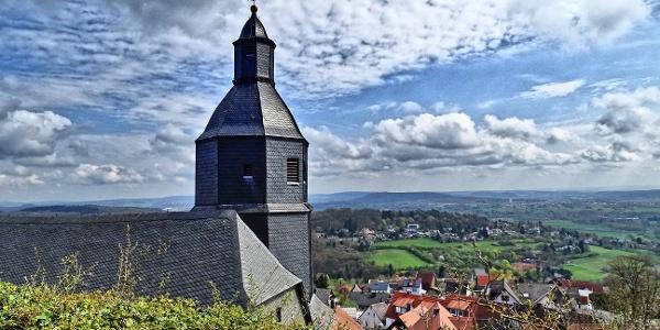 Gleiberg, Kirche