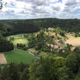 Panorama von Burgruine Hohengundelfingen