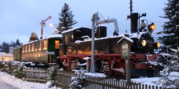 Pomník dopravní historie v Geyeru