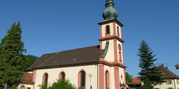 Wallfahrtskirche Maria Hilf in Moosbronn