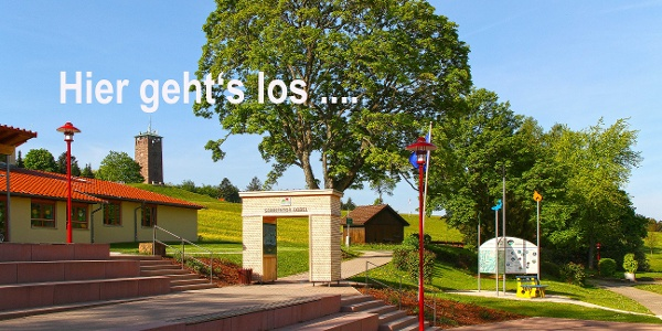 Startpunkt Kurhaus/Sonnentor