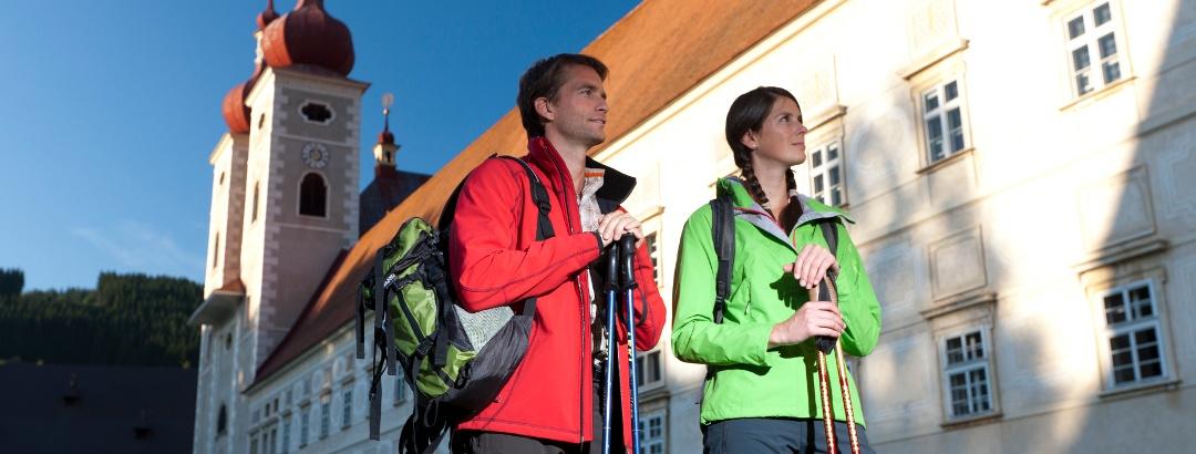 Start in St. Lambrecht
