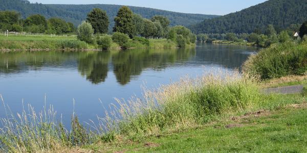 Weser bei Reinhardshagen