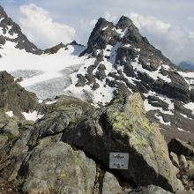 Blick vom Plattenjoch in die Schweiz - I