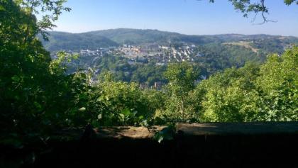 Blick zurück auf Idar-Oberstein