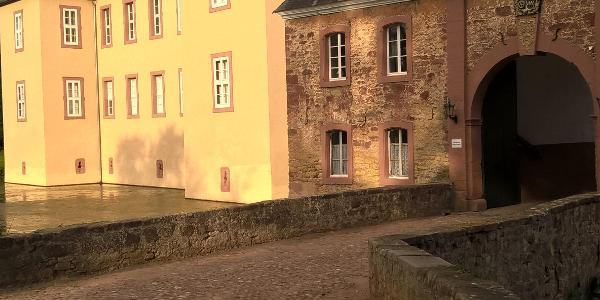 Schloss Eicks in Abendsonne