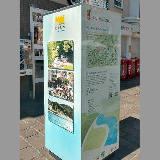 Start Soonwaldsteig auf dem Kirner Marktplatz