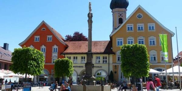 Immenstadt Marienplatz