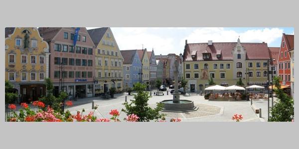 Mindelheim, Marktplatz