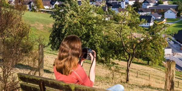 Werden Sie zum Landschaftsfotografen auf der Fotoroute Oberhenneborn