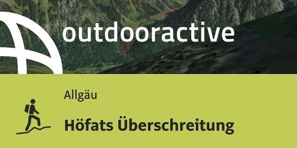 Bergtour im Allgäu: Höfats Überschreitung