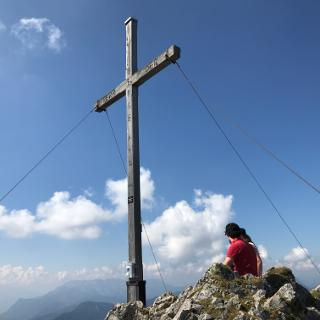 Gipfel Hinteres Sonnwendjoch