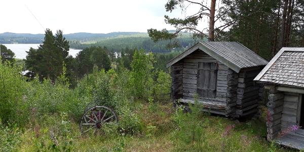 Utsikt från Haverö Hembygdsgård
