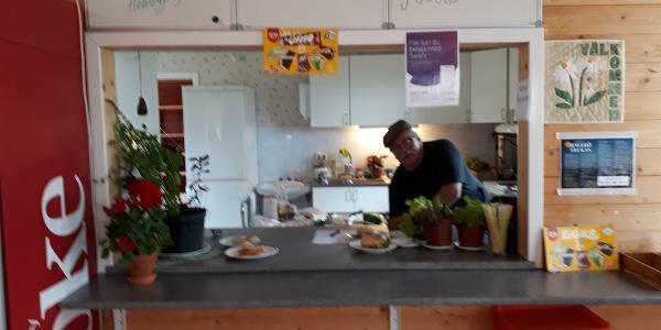 Serveringen vid Haverö Hembygdsgård