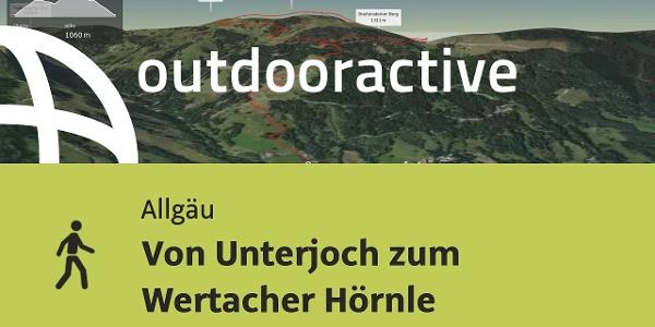 Wanderung im Allgäu: Von Unterjoch zum Wertacher Hörnle