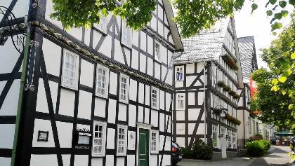 Der Marktplatz in Hilchenbach